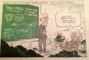 Bill McKibben's Do The Math tour in Australia ©Canberra Times